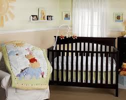 Winnie The Pooh Nursery Bedding Sets Disney Playful Pooh 3piece Comforter Crib Bedding Set