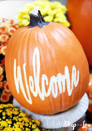 easy to make fall decorations how to carve a pumpkin that lasts foam pumpkins are easy to carve