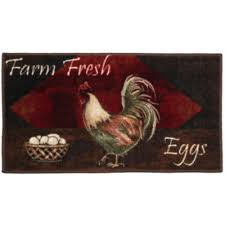 Jcpenney Kitchen Rugs Rooster Kitchen Washable Rectangular Rug