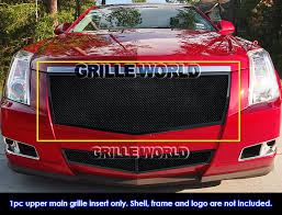 2011 cadillac cts grille for 2008 2011 cadillac cts black stainless steel mesh grille grill
