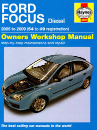 ford focus diesel service and repair manual 2005 to 2009 haynes