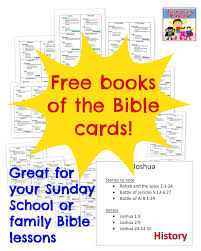 printable periodic table of the bible printable books of the bible cards