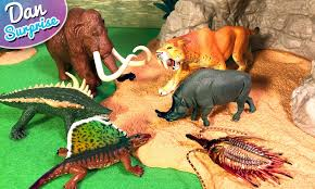 14 terrifying prehistoric animals surprise toys 3d puzzles