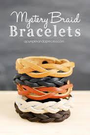 bracelet patterns leather images Mystery braid bracelet tutorial a pumpkin and a princess jpg