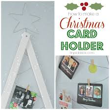 christmas card display holder diy christmas card holder christmas card display tutorial