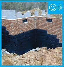 damp proof exterior surface of below grade walls building