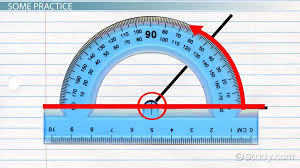 how to measure angles with a protractor video u0026 lesson
