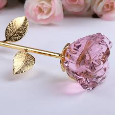 Rose Dipped In Gold Crystal Roses Dipped In Gold Party Supplies Cool Toys Gifts Home