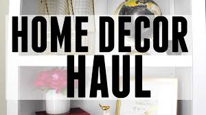 home decor haul target world market tjmaxx youtube