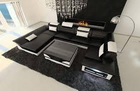sofa esstisch modular sofa contemporary leather 2 seater nest design leder