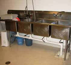 commercial stainless steel sink and countertop commercial sink drain installation sink ideas