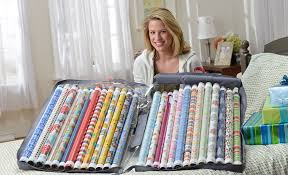 how to store wrapping paper and gift bags wrapping paper storage with the best storage organizer many