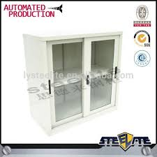 short small metal cabinet with lock cabinet sliding glass door