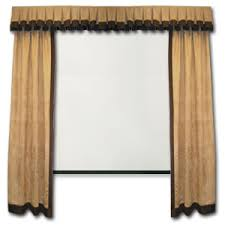 Movie Drapes Contemporary Home Theater Curtains