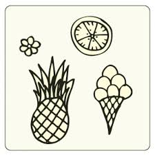 object sketches summer vector free download