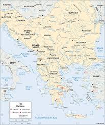 Bosnia Map Bosnia And Herzegovina Balkans Students Britannica Kids