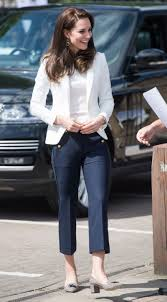 kate middleton casual middleton does casual friday with an twist