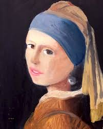 pearl earring painting girl with a pearl earring katonah center