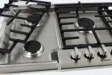 Ge Gas Cooktop Reviews Bosch Ngm8655uc 36 Inch Gas Cooktop Review Reviewed Com Ovens