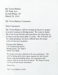 my town bakery moves to a new town scotch plains fanwood nj news