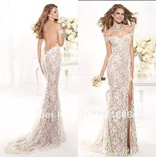white lace prom dress formal lace white dress choice 2016 gossip style