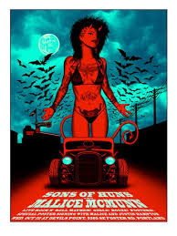glow in the dark poster sons of huns malice poster glow in the dark variant justin hton