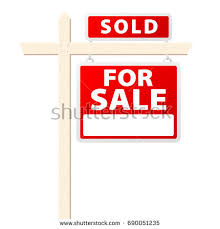basic house sale sold above sign stock vector 690051235 shutterstock