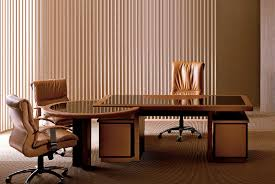 Leather Office Desk Executive Desk Wooden Leather Traditional Elite By Guido