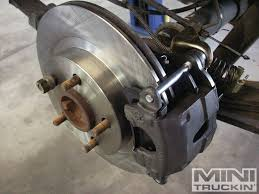 chevy s10 rear disc brake conversion bye bye to dumb drums
