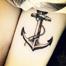 tattoo designs for women anchor tattoo love