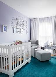 Purple Nursery Decor Nursery Decors Furnitures Purple And Gray Elephant Nursery