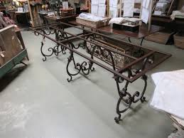 wrought iron dining table set wrought iron dining room table base createfullcircle com
