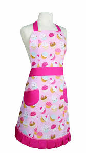 Apron Designs And Kitchen Apron Styles Kitchen Style By Now Designs Peggy Apron Cupcakes