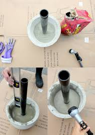 Cheap Beach Umbrella Diy Patio Umbrella Stand Tutorial