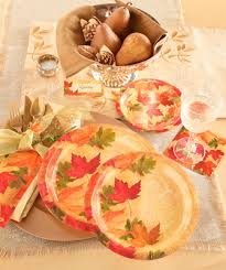 fall thanksgiving supplies tableware at supplies and