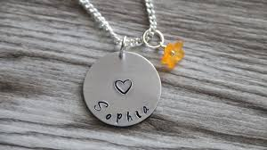 girls personalized necklace images Flower girl necklace personalized name necklace flower necklace jpg