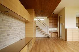interior interesting wood interior design with floating wooden