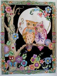 54 Best Crestive Haven Animal Images On Pinterest Animal Owl Coloring Ideas