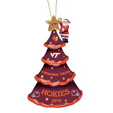 2010 annual virginia tech hokies ornament the danbury mint