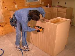 How To Install Kitchen Cabinets Yourself How To Replace Kitchen Cabinets How Tos Diy
