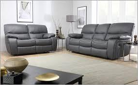 Leather Recliner Sofa 3 2 Grey Leather Sofa Set Awesome Beaumont Grey Leather Recliner