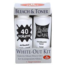 bleach n rage bleach and toner kit