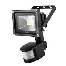 Outdoor Led Flood Lights Le 10w Super Bright Motion Sensor Flood Light Outdoor Led Flood