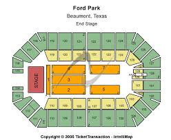 ford park beaumont ford park tx tickets venues