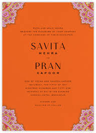 wedding invitations indian indian wedding invitations online at paperless post