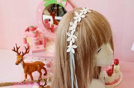 anime hair accessories japanese anime mori girl accessories handmade lace