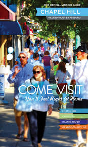 2017 official visitors guide chapel hill orange county nc by