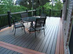 garage roof deck flooring reviews wpc decking cheap waterproof