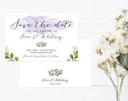 online save the dates save the date invite etsy