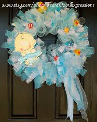 baby shower wreath it s a boy baby shower wreath or great for a gift boy baby